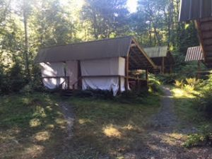 massage therapy for glampers | Pain to Performance Solutions | cabin-tent
