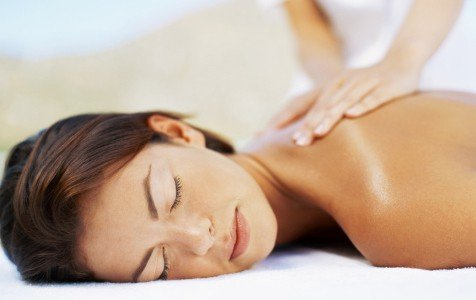 Woman getting a Wellness Massage - Maintenance massage