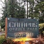 Campus Park sign Bellevue WA